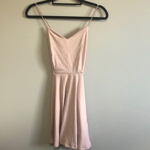 💫 3 for 30 💫 Criss Cross Pink Baby Doll Dress